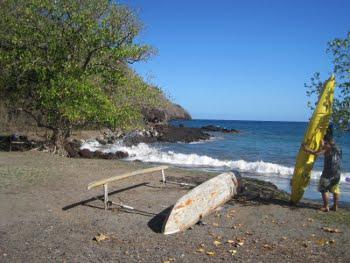 La plage d'Hatiheu